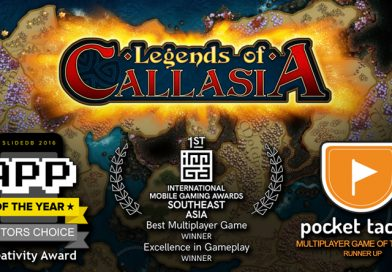 Best of 2016 Awards for Legends of Callasia